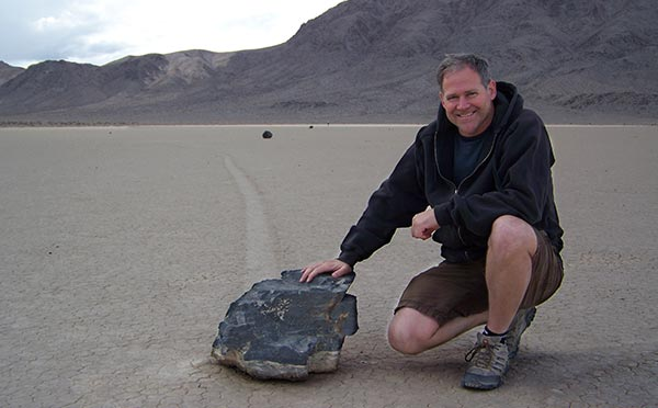 Living Stones of Death Valley