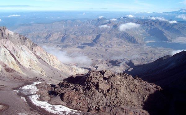 Steven austin dating mount st. helens lava dome sample