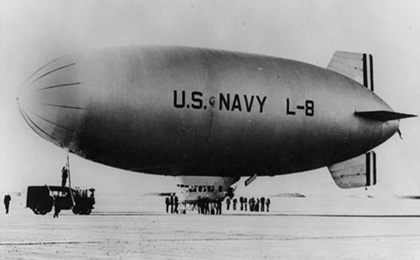 The Riddle of the L-8 Blimp