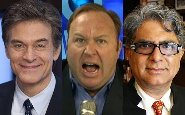 Trinity: Interview with Dr. Oz, Alex Jones, and Deepak Chopra