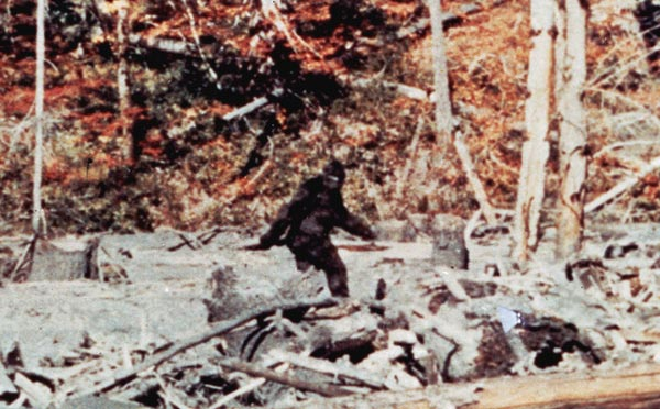 The Patterson-Gimlin Bigfoot Film