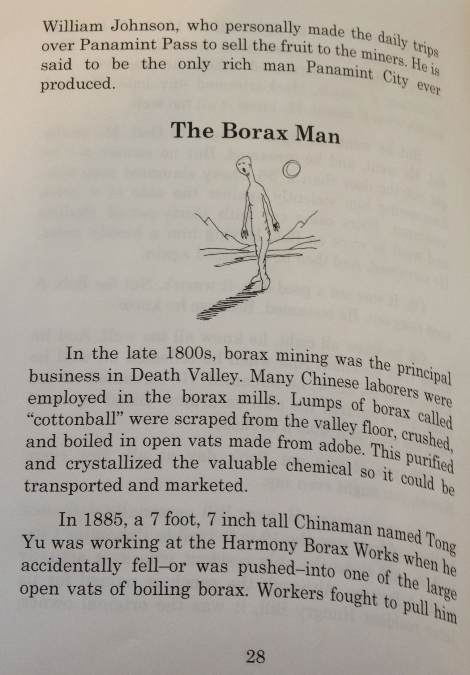The Borax Man