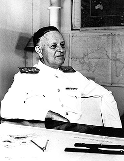 Admiral Kimmel at Pearl Harbor