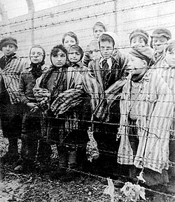 Mengele's twins at Auschwitz